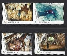 AUSTRALIA 2017 CAVES SET OF 4 UNMOUNTED MINT, MNH