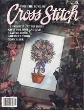 For The Love Of Cross Stitch Magazine Jul 1993 Gifts For Mom & Dad American Bear