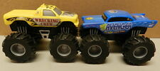 CHEVY 55 57 AVENGER WRECKING CREW PULLBACKS HOT WHEELS 4X4 MONSTER TRUCK PICKUP