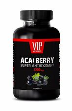 Acai berry capsules - ACAI BERRY 1200 SUPER ANTIOXIDANT - Energy supplement 1B