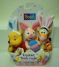 #5255 NRFB Mattel Target Pooh & Friends Easter Pooh-rade Bean Bag Plush