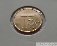 Coin / Munt Netherlands 5 cent 1999 fdc Queen Beatrix