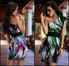 Sommerkleid, Party Kleid, Urlaubskleid , One Shoulder, Kofferkleid NEW @ buy.2