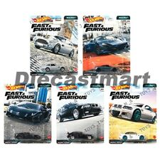 Hot Wheels 1:64 Fast & Furious Euro Rápido Set De 5 Coche Metal GBW75-956K Nuevo