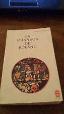 La Chanson de Roland French Paperback (ISBN #9782253053415). Literature, Classic