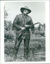 Actor James Arness in Character Original Photo