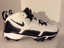 Nike 352638-101 Men's White Black Zoom Code Pro Shark Football Cleats Shoes 16