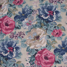 "1.8 meters x SANDERSON ""Midsummer Rose"" linen fabric Antique Rose"