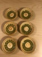 """Set of 6 Tabletops Unlimited """"Provincial Olives"""" Hand Painted Dipping Bowls"""