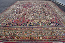 Antique Luxury Lavar kerman  rugs  16x21ft ca 1870