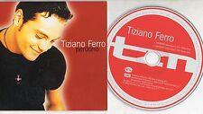 TIZIANO FERRO raro CD single PERDONO 2 versioni ITALIANO e INGLESE cardsleeve