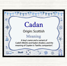 Cadan Name Meaning Mouse Mat Pad Nautical