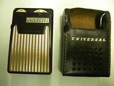 Universal  6 Transistor Radio  Untested Parts/Repair
