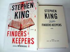 Stephen King Signed Autograph Finders Keepers 1ST/1ST Book Mr Mercedes Trilogy