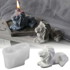 Lion Candle Mold Silicone Aromatherapy Candle Craft Making Mould Diy Soap Molds