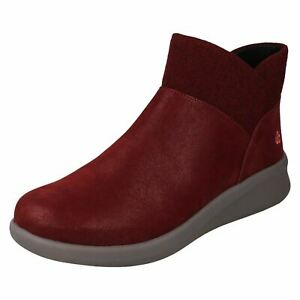 Ladies Cloudsteppers by Clarks Casual Ankle Boots 'Sillian 2.0 Dusk'