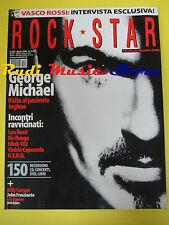 rivista ROCKSTAR 284/2004 George Michael Lou Reed Vasco Capossela N.E.R.D.*No cd