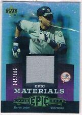 Upper Deck Derek Jeter Baseball Cards