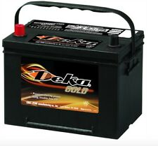 DEKA GENUINE NEW 634MF 12-VOLT GOLD BATTERY 850AMP Cranking Power
