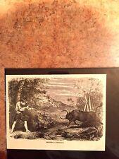 Antique Philippine Hunting Etching Set