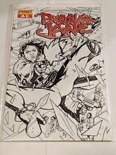 Painkiller Jane #3 Dynamite Entertainment Comics Special Sketch Edition