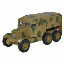 OXFORD DIECAST 76SP009, SCAMMELL PIONEER ARTILERY TRACTOR, LUFTWAFFE CRETE, 1943