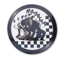 Madness - Record Label Vinyl Sticker 2 Tone Ska Rude Boy CD Size Decal  CD2
