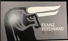 Franz Ferdinand Original 2013 Southern Ca 00004000 lifornia Tour Poster