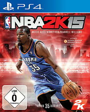 NBA 2K15 OVP / New and sealed (Sony PlayStation 4, 2014, DVD-Box)