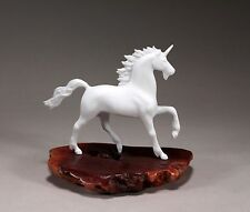 UNICORN Figurine New direct from JOHN PERRY Pellucida 7in Tall Statue Decor