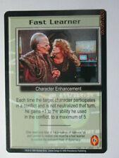 1998 Babylon 5 Ccg - The Shadows - Rare Card - Fast Learner