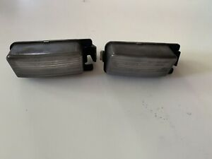 (2) NISSAN GTR Sentra 350 370 Z Altima ETC License Plate Lamp OEM ICHIKOH 6245