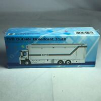 1/87 TINY Hong Kong CAR TVB - Mercedes Benz Antos TVB Outside Broadcast Truck