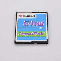 FujiFilm 64MB Compact Flash Memory Card  (T734)