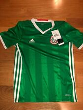 Mexico National Home Soccer Jersey Adidas ClimaCool -Green- Youth size M and L