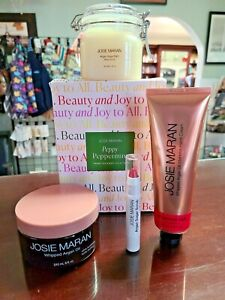 Josie Maran Peppy Peppermint Argan Face & Body Collection SHIPS FAST!