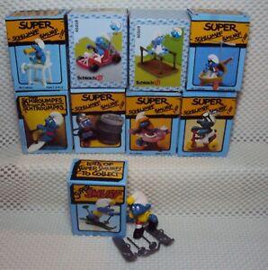 Super Schlümpfe Figuren Auswahl Schlumpf Figur Paket 3 Super-Schlumpf Neu