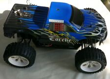 Monstertruck Amewi Torche Elektro 4WD  RTR - HSP Brontosaurus purple Truggy