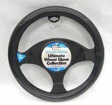 Negro Imitación Cuero Volante Cubierta Para Nissan Qashqai 07+ G12