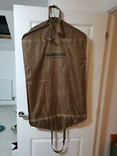 Burberry Authentic Solid Garment Bag Suit Coat Dust Cover Travel Carriers Size S