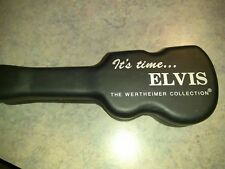 Nice Elvis Presley Wertheimer Collectors Watch With Guitar Case From 1990s