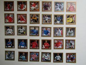 Merlin ~ Walkers 2002 Football Premier League Stickers (ROI Green Back) (EF9)