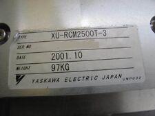 Yaskawa XU-RCM2500T-3 Robot Track OST7-01-031-3 Nikon OPTISTATION 7 Used Working