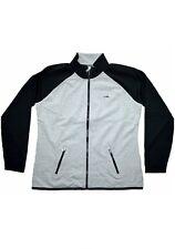 New Polo ralph lauren full zip sweater Size M  Gray/Black.