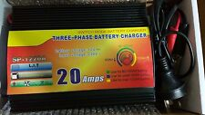 Battery Charger SLA VRLA 12V 20A DC Intelligent 3 Phase Deep Cycle Boat Caravan