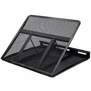 NEW! HUANUO Adjustable Laptop Stand Riser for Desk fits up to 15.6 inch Notebook