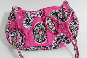 Vera Bradley Pink Small Shoulder Handbag Bag Purse