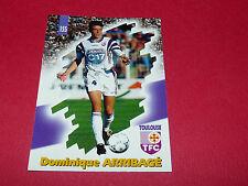 PANINI FOOTBALL CARD 98 1997-1998 D. ARRIBAGE TOULOUSE FC Téfécé TFC STADIUM