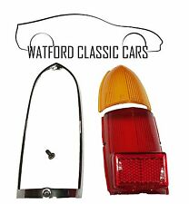 MGB & MG Midget Early 4 Piece Complete Rear Lens Cover Kit