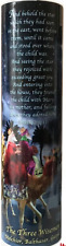 THREE WISEMEN SCENE CHRISTMAS LED CANDLES   6 Hour Timer